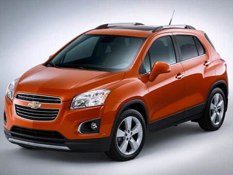2015 Chevrolet Trax Pricing Ratings Reviews Kelley Blue Book