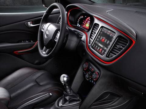 2015 dodge dart Interior