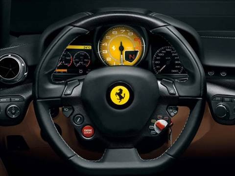 2015 ferrari f12berlinetta Interior