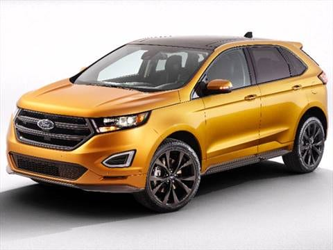 Ford Edge  Mpg Combined