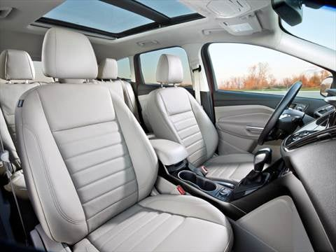 2015 ford escape Interior