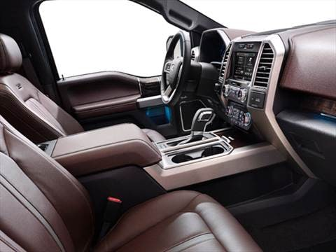 2015 ford f150 supercrew cab Interior
