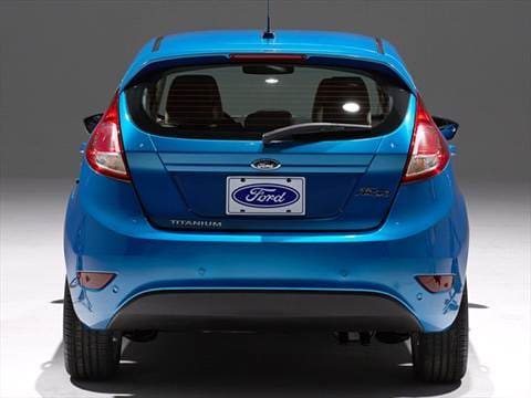 2015 ford fiesta Exterior