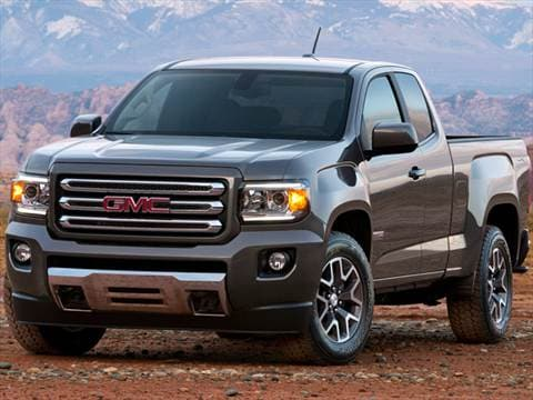 2015 gmc canyon extended cab Exterior