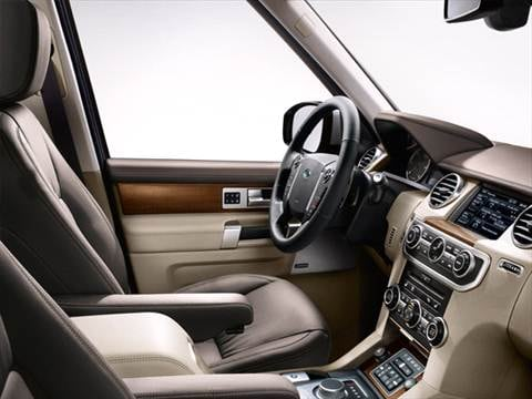 2015 land rover lr4 Interior