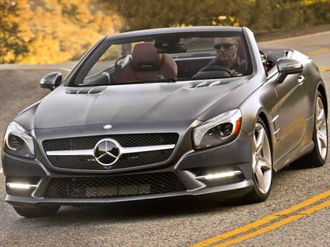 Mercedes benz sl class pricing ratings reviews for Mercedes benz sl550 price