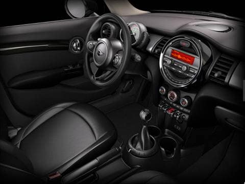 2015 mini hardtop 4 door Interior