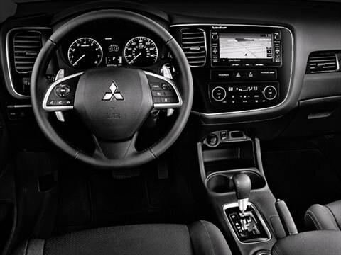 ... 2015 Mitsubishi Outlander Interior