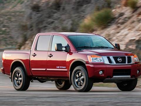 2015 nissan titan crew cab pricing ratings reviews. Black Bedroom Furniture Sets. Home Design Ideas