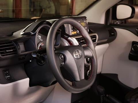 2015 scion iq Interior