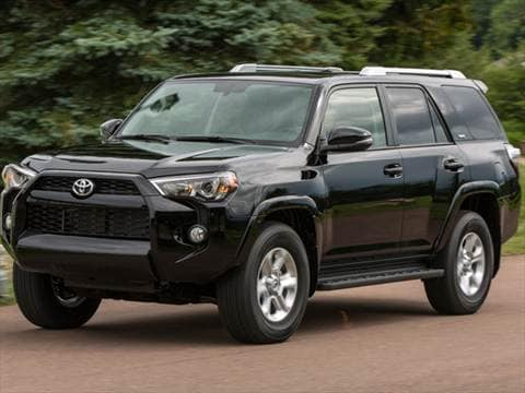 2015 Toyota 4runner. 18 MPG Combined