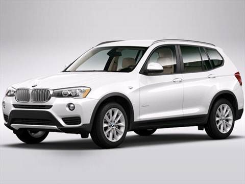 2016 bmw x3 pricing ratings reviews kelley blue book. Black Bedroom Furniture Sets. Home Design Ideas