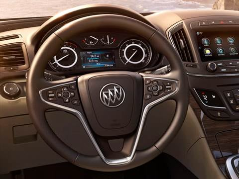 2016 buick regal Interior