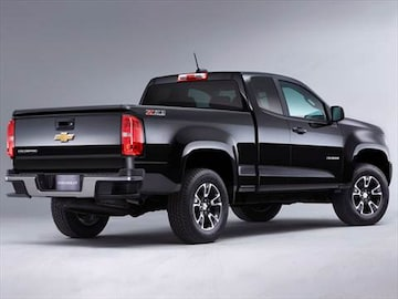 2016 Chevrolet Colorado Extended Cab Exterior