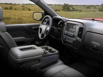 2016 chevrolet silverado 1500 regular cab Interior
