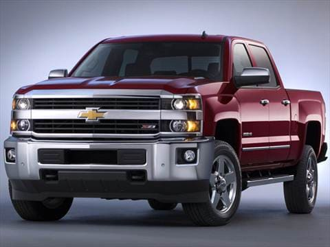 2016 Chevrolet Silverado 2500 HD Crew Cab | Pricing ...