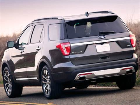 2016 Ford Explorer Pricing Ratings Reviews Kelley Blue Book