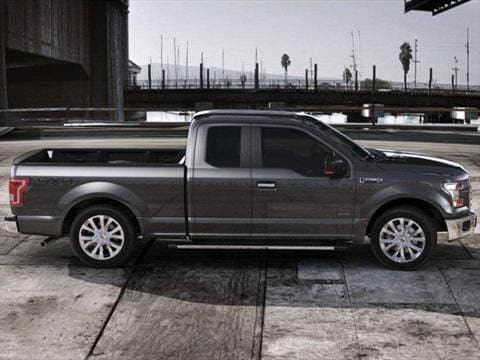 2016 ford f150 super cab Exterior