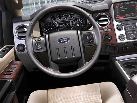 2016 ford f250 super duty crew cab Interior