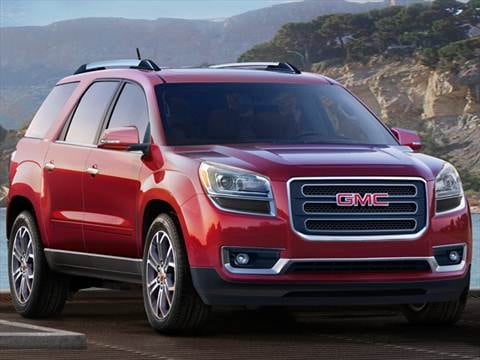 2016 gmc acadia pricing ratings reviews kelley blue book. Black Bedroom Furniture Sets. Home Design Ideas