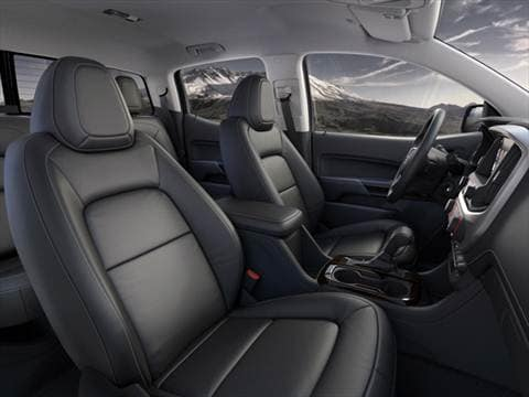 2016 gmc canyon extended cab Interior