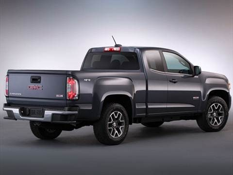 2016 gmc canyon extended cab Exterior