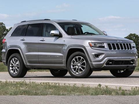 2016 Jeep Grand Cherokee. 22 MPG Combined