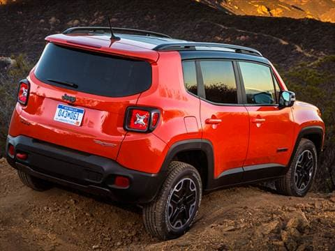2016 Jeep Renegade Trailhawk Review Kelley Blue Book