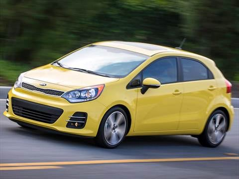 2016 Kia Rio Pricing Ratings Reviews Kelley Blue Book
