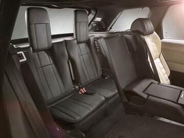 2016 Land Rover Range Sport Interior