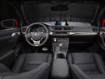 2016 lexus ct Interior