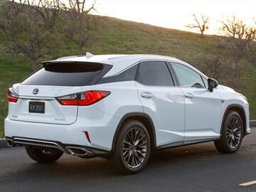 2016 Lexus Rx Exterior