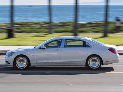 2016 mercedes benz mercedes maybach s 600 sedan 4d for Mercedes benz blue book