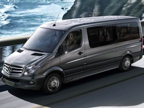 2016 mercedes benz sprinter 2500 passenger