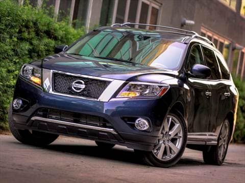 2016 nissan pathfinder pricing ratings reviews kelley blue book. Black Bedroom Furniture Sets. Home Design Ideas
