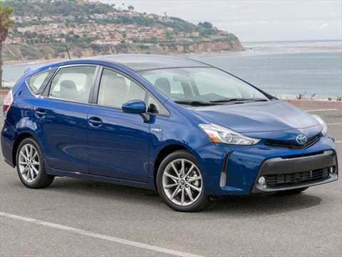2016 toyota prius v pricing ratings reviews kelley blue book. Black Bedroom Furniture Sets. Home Design Ideas