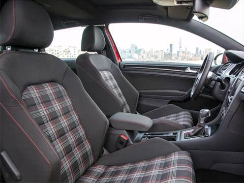 2016 volkswagen golf gti Interior