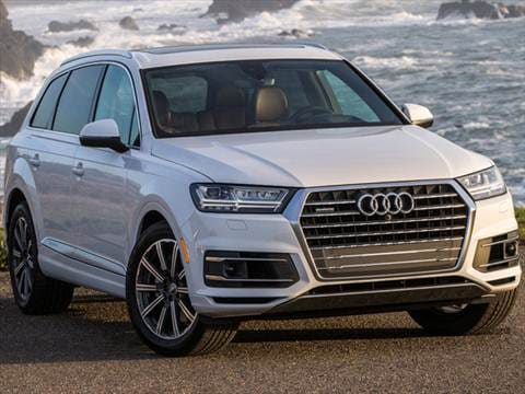 Audi Suv Q7 >> 2017 Audi Q7 Pricing Ratings Reviews Kelley Blue Book