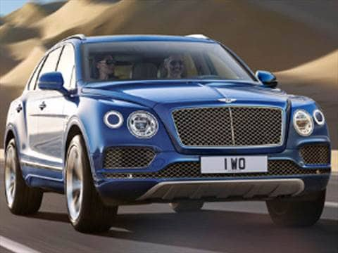 2017 bentley bentayga Exterior