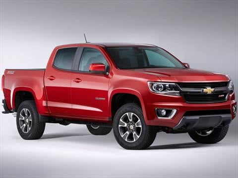 2017 Chevrolet Colorado Crew Cab Pricing Ratings Reviews