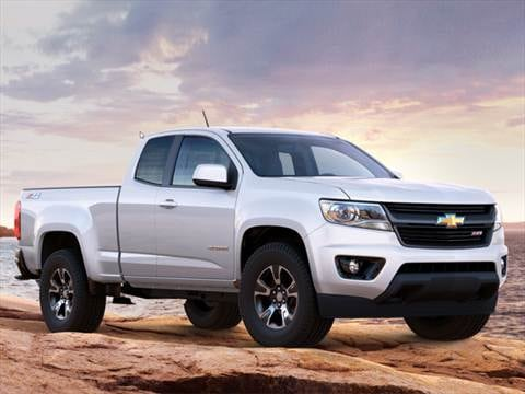 2017 Chevrolet Colorado Extended Cab Pricing Ratings Reviews