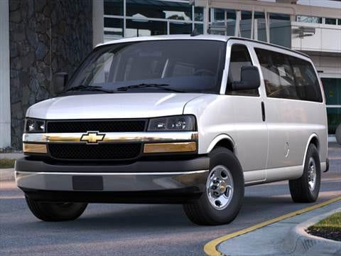 2017 Chevrolet Express 2500 Penger