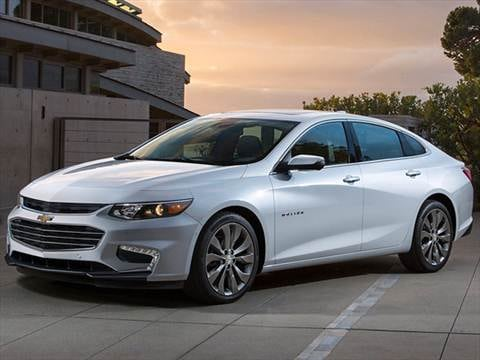 2017 Chevrolet Malibu 30 Mpg Combined