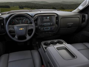 2017 chevrolet silverado 3500 hd double cab Interior
