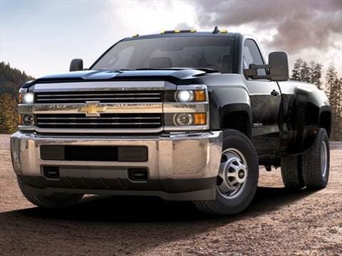 2017 Chevrolet Silverado 3500 Hd Regular Cab