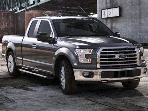 2017 ford f150 super cab Exterior