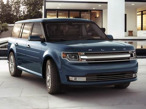 2017 Ford Flex Pricing Ratings Reviews Kelley Blue Book