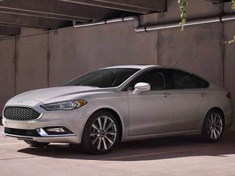 2017 Ford Fusion 25 Mpg Combined