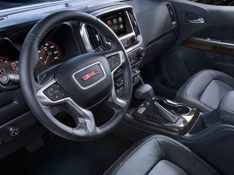 2017 gmc canyon crew cab Interior