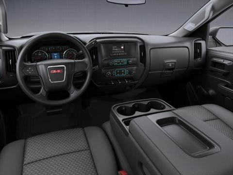 2017 gmc sierra 2500 hd regular cab Interior